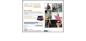 Back To School Fashion Rules Sweepstakes