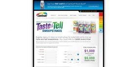 Centrum Flavor Burst Taste & Tell Sweepstakes