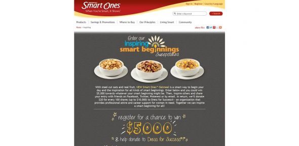 Inspiring Smart Beginnings Sweepstakes