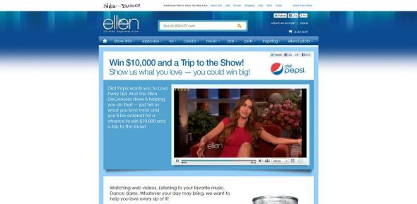 ellentv.com/loveeverysip – Love Every Sip Contest