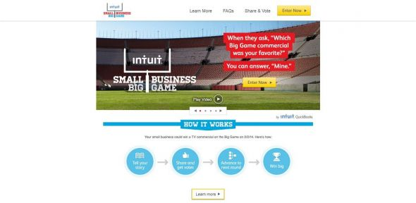Intuit Small Business Big Game Promotion