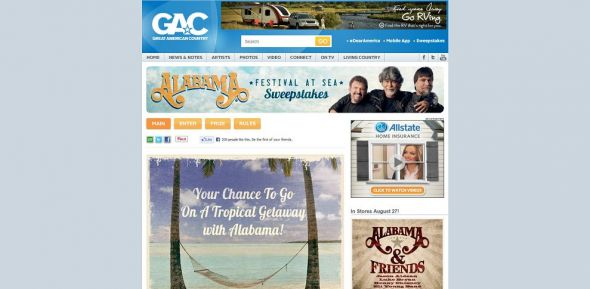 Alabama's Festival at Sea Sweepstakes