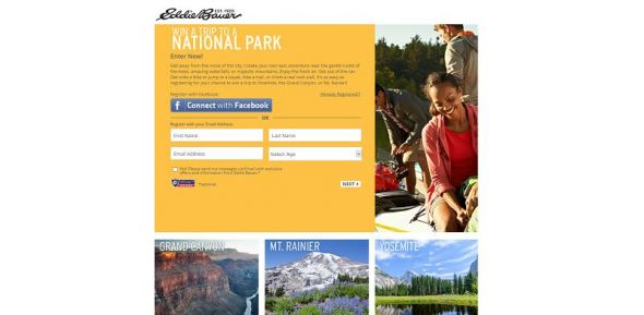 Win a Trip to a National Park Sweepstakes