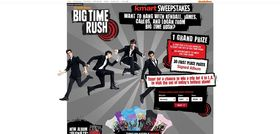 Big Time Rush Kmart Sweepstakes