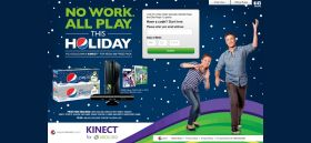 Pepsi Kinect Holiday Game