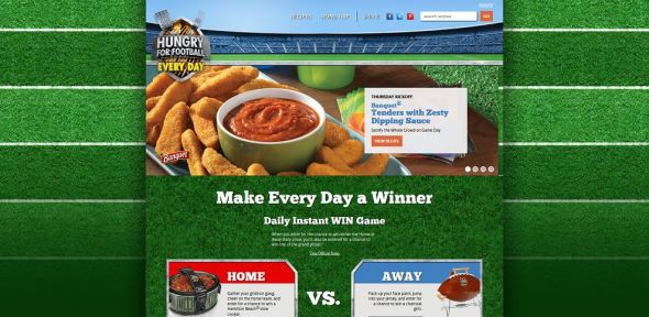 www.hungryforfootball.com – Hungry for Football Promotion