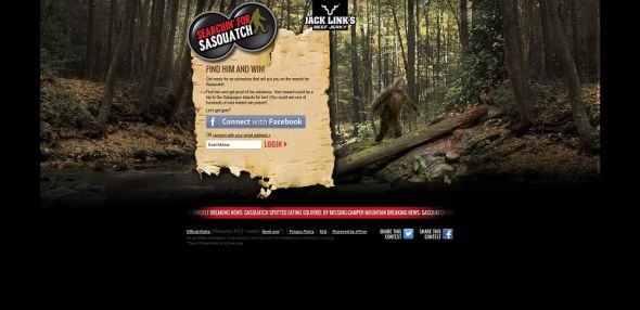 Searchin' for Sasquatch Promotion