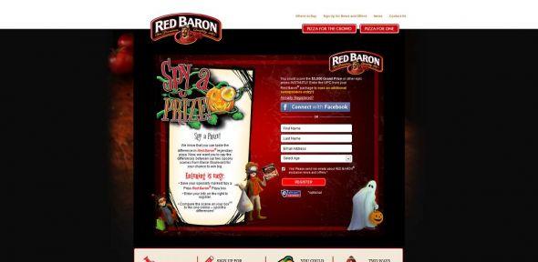 redbaron.com/spyaprize – Red Baron Pizza Spy A Prize Sweepstakes & Instant Win