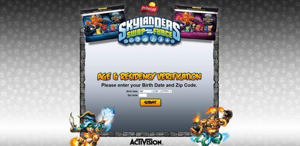 skylanderspromo.com/fritolayfall – Frito-Lay Skylanders Fright Rider Instant-Win Game
