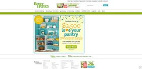 BHG $2,500 Love Your Pantry Sweepstakes