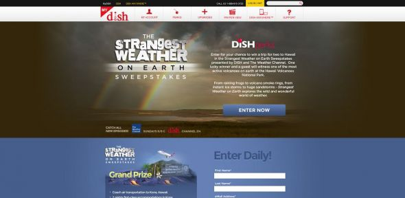 Strangest Weather on Earth Sweepstakes