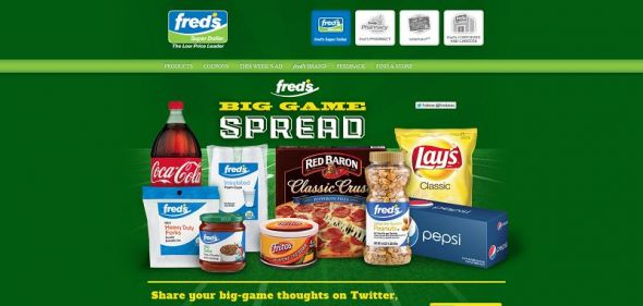 fred's Super Dollar fred's Big Game Spread Twitter Contest