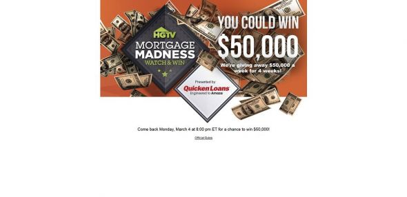 hgtv.com/mortgage &#8211; HGTV&#8217;s Mortgage Madness Watch &#038; Win Sweepstakes