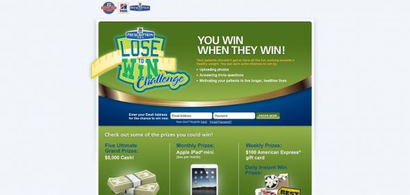 Hill's Lose to Win Sweepstakes