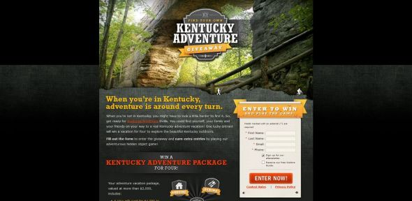 Find Your Own Kentucky Adventure Giveaway Sweepstakes