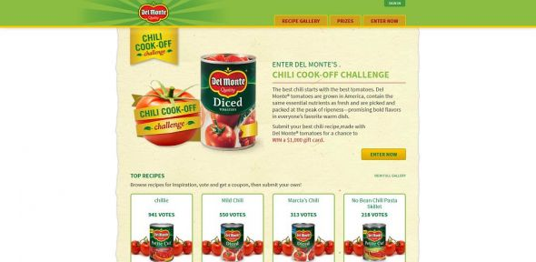 Del Monte Chili Cook-Off Challenge