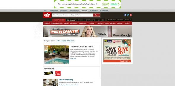 Don't Hate, Renovate Sweepstakes