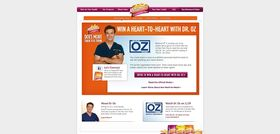 www.winaheart2heart.com – Win a Heart-to-Heart with Dr. Oz Sweepstakes