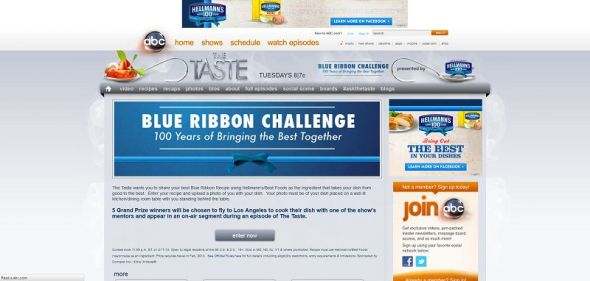 BlueRibbonChallenge.com – Blue Ribbon Challenge Contest