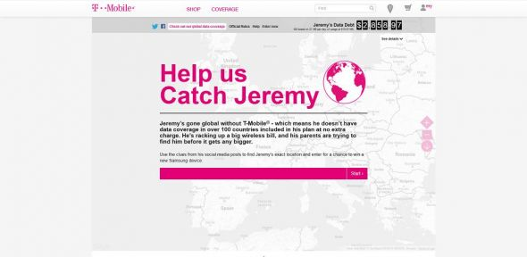 Catch Jeremy Sweepstakes