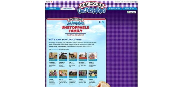 Smucker's Uncrustables Coupon Promotion