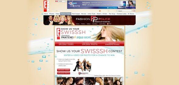 eonline.com/swisssh – Show Us Your Swisssh Sweepstakes