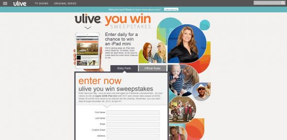 Ulive You Win Sweepstakes