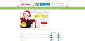 Parents.com $10,000 Shop Sweepstakes