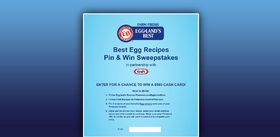 Best Egg Recipes Pin & Win Sweepstakes