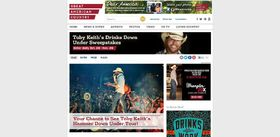 Toby Keith Drinks Down Under Sweepstakes