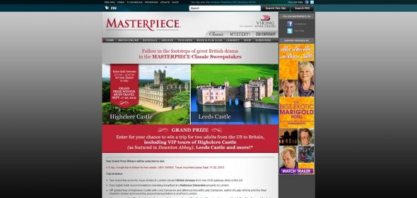 Masterpiece Classic Sweepstakes
