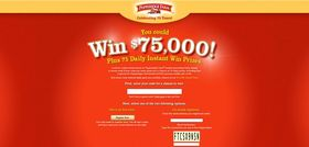 pfwin75.com – Pepperidge Farm Celebrating 75 Years Instant Win Game and Sweepstakes