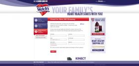 Welch's Heart Health Month Sweepstakes