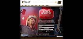 Ariat Toby Keith Guitar Giveaway Sweepstakes