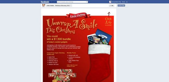 Little Debbie Unwrap A Smile This Christmas Giveaway