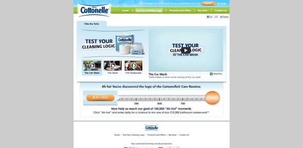 Cottonelle Bathroom Makeover Sweepstakes