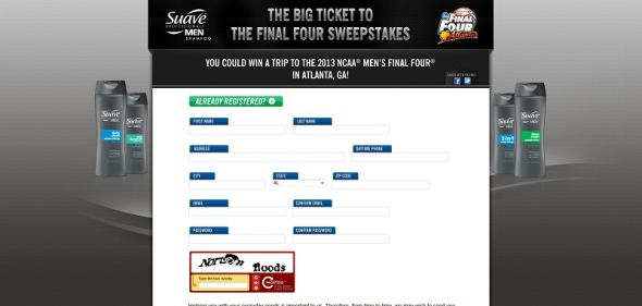 Big Ticket to the Final Four Sweepstakes