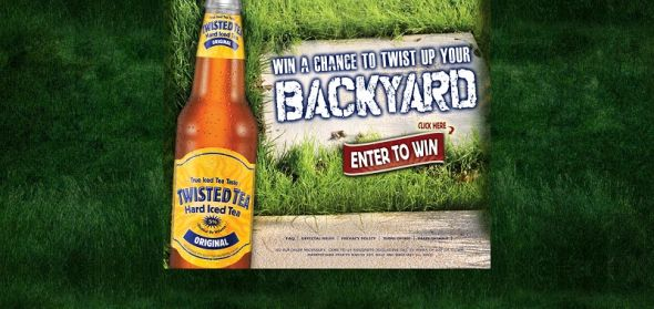 twistedtea.com/backyard – Twisted Tea Twist Up Your Backyard Sweepstakes