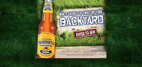 twistedtea.com/backyard – Twisted Tea Twist Up Your Backyard Sweepstakes