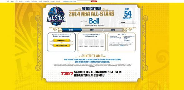 NBA All-Star Sweepstakes