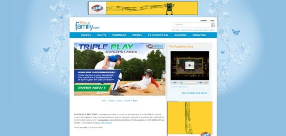 Triple Play Sweepstakes