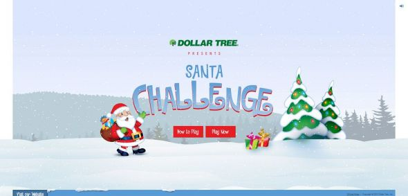 santachallenge.com – Dollar Tree's Santa Challenge Christmas Game Sweepstakes