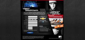 MTV's Fantasy Factory First Sweepstakes