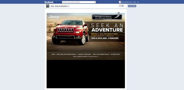 Jeep Seek an Adventure Sweepstakes