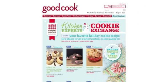 Good Cook Kitchen Expert Cookie Exchange Giveaway