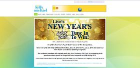 LIVE'S New Year's Look Back Tune in to Win Sweepstakes
