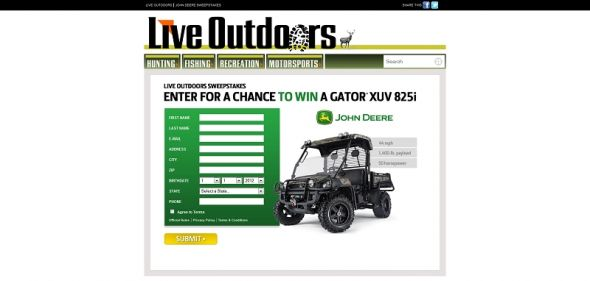 Live Outdoors Sweepstakes