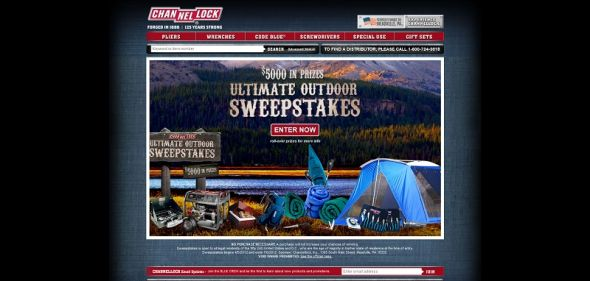 Channellock Ultimate Outdoor Sweepstakes