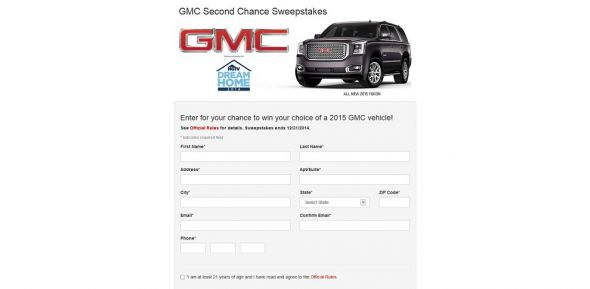 Buick GMC National Sweepstakes