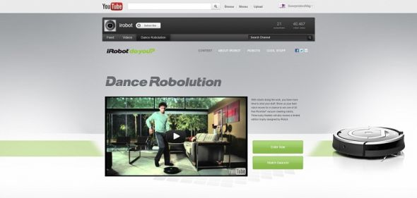 iRobot Dance Robolution Contest